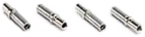 Solid contacts, nickel-plated, crimp