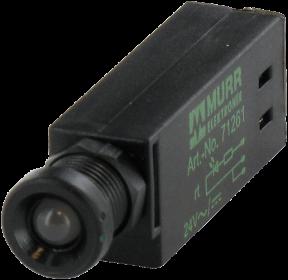 LED-INDICATOR OPAC / YELLOW