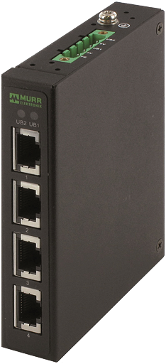 TREE 4TX Metal - Unmanaged Switch - 4 Ports