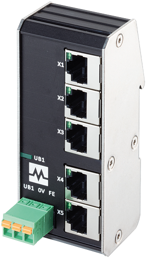 Xenterra 5TX unmanaged Switch 5 Port 100Mbit